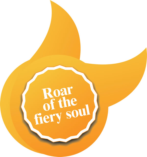 Roar of the fiery soul